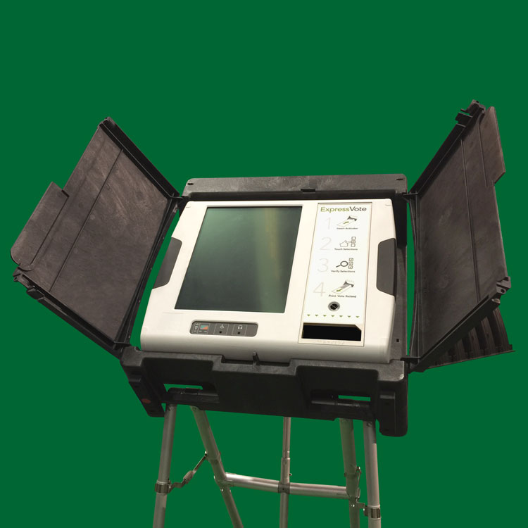 Structural Foam Voting Machine Case