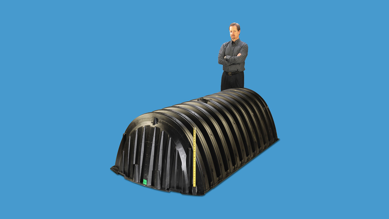 Large Molded Plastic Irrigation System Part