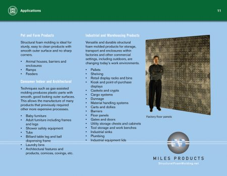 Structural Foam Molding Design Guide Applications Page