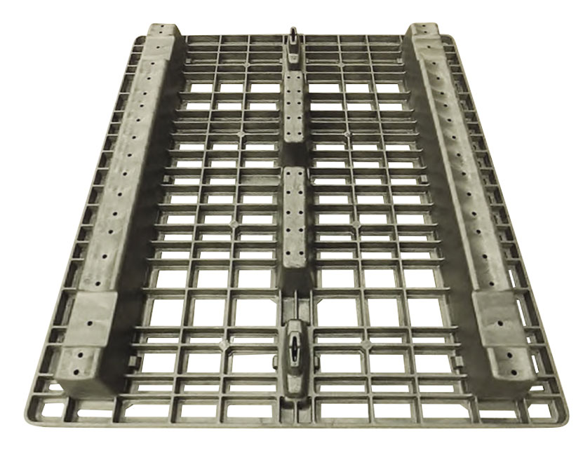 "42""x48"" Beam Rack Pallet Stackable (bottom)"