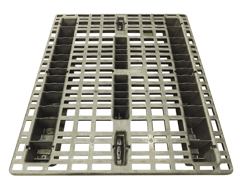 "42""x48"" Beam Rack Pallet Stackable (top)"