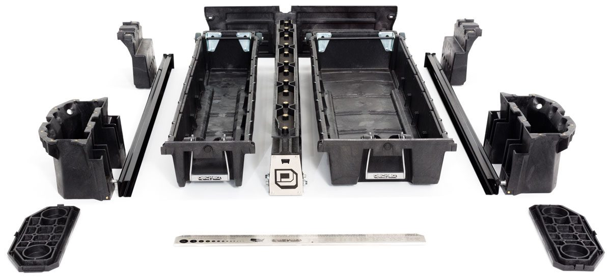 Decked System Structural Foam Molded Part Range