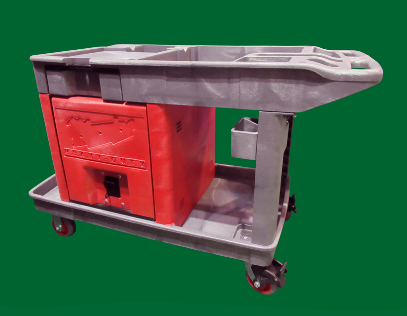 Structural Foam Molded Cart