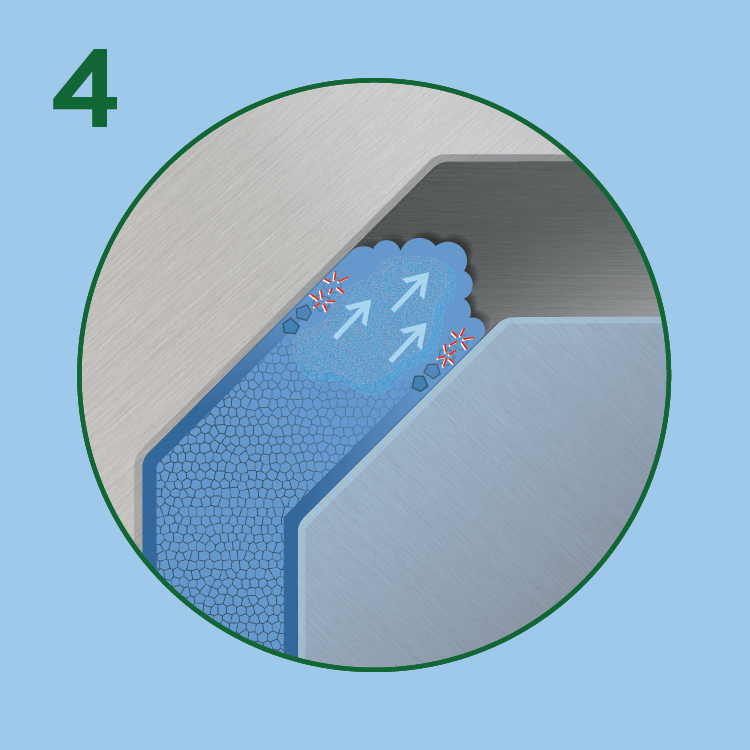 Structural foam wall and core formation
